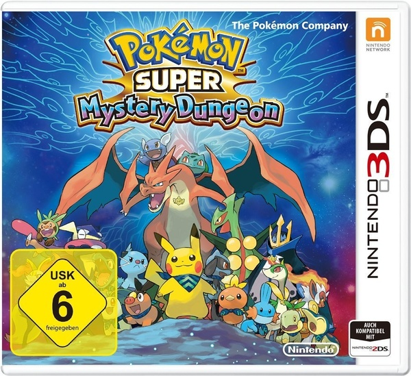 Cover zu Pokémon Super Mystery Dungeon