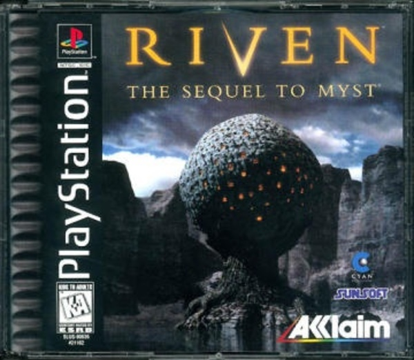 Cover zu Riven: The Sequel to Myst