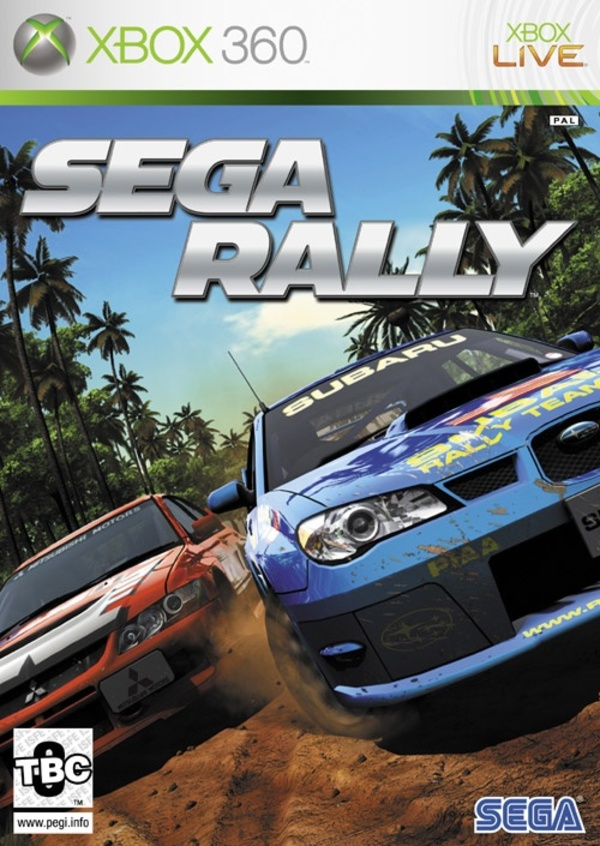 Cover zu Sega Rally