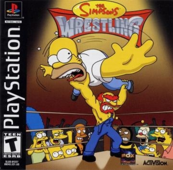 Cover zu Simpsons Wrestling, The