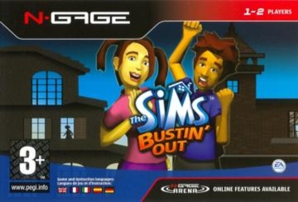 Cover zu Sims Bustin' Out, The