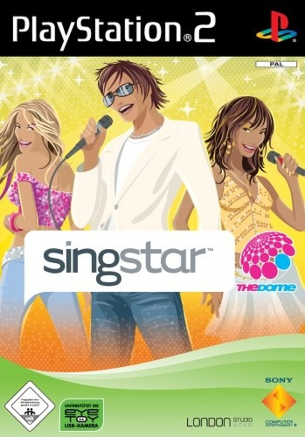 Cover zu SingStar: The Dome