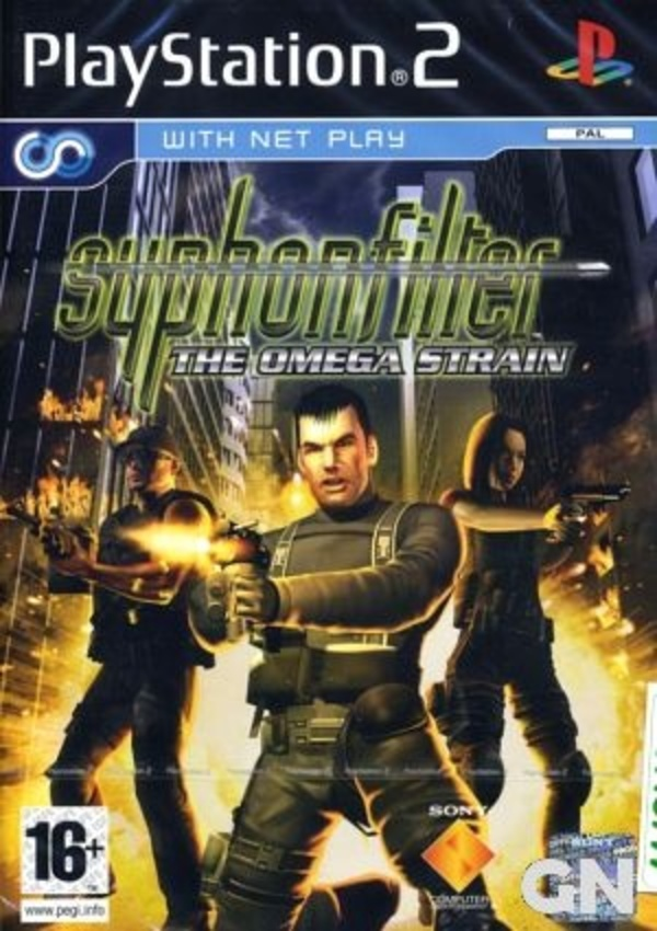 Cover zu Syphon Filter: The Omega Strain