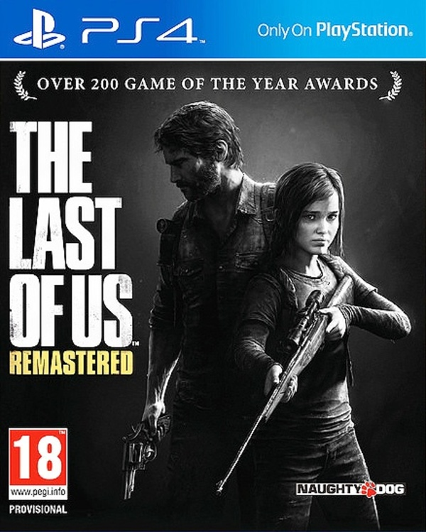 Cover zu The Last of Us Remastered