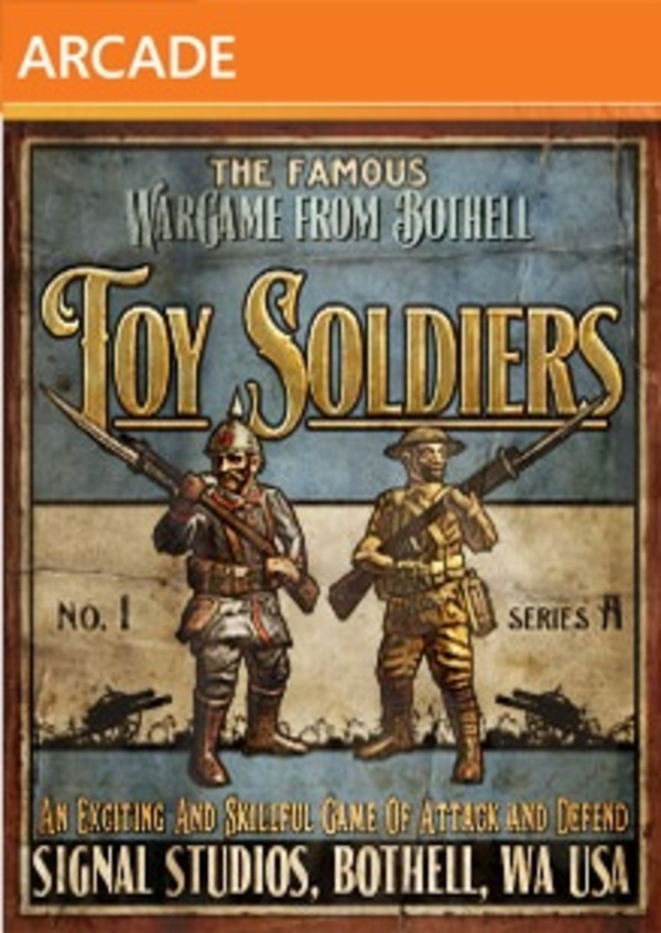 Cover zu Toy Soldiers