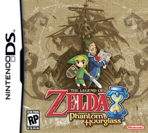 Cover zu Zelda: Phantom Hourglass