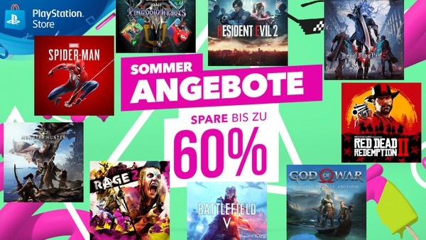 PS Store - Großer Summer Sale 2019 gestartet: Die besten Deals [Anzeige]