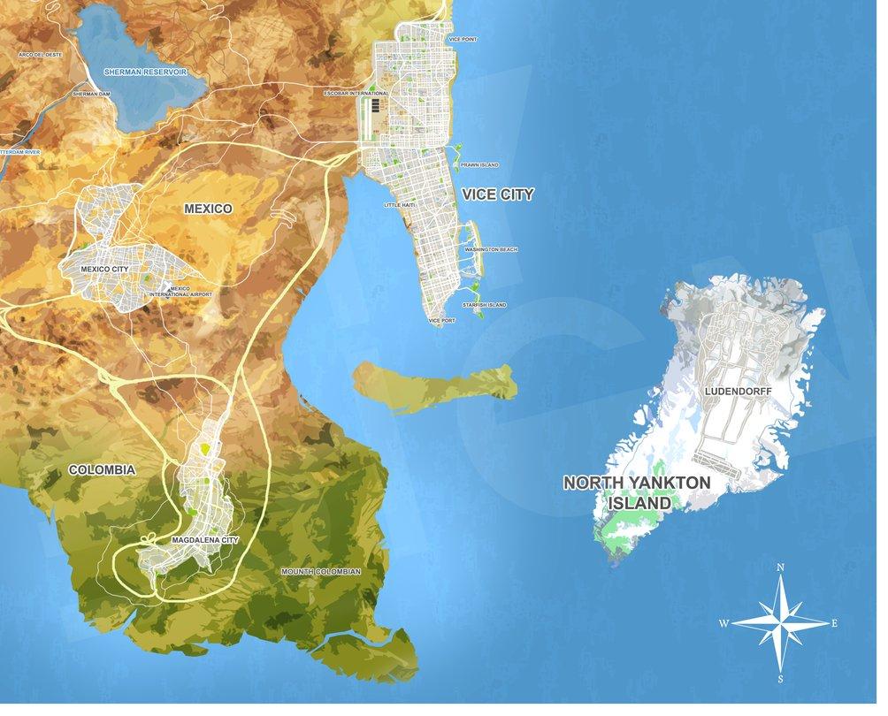 Gta 6 Konnte Weibliche Hauptfigur Bieten Alle Maps Kombinieren