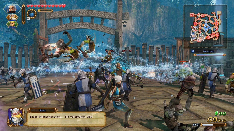 Hyrule Warriors Definitive Edition Switch Test Xxl Schlachtplatte