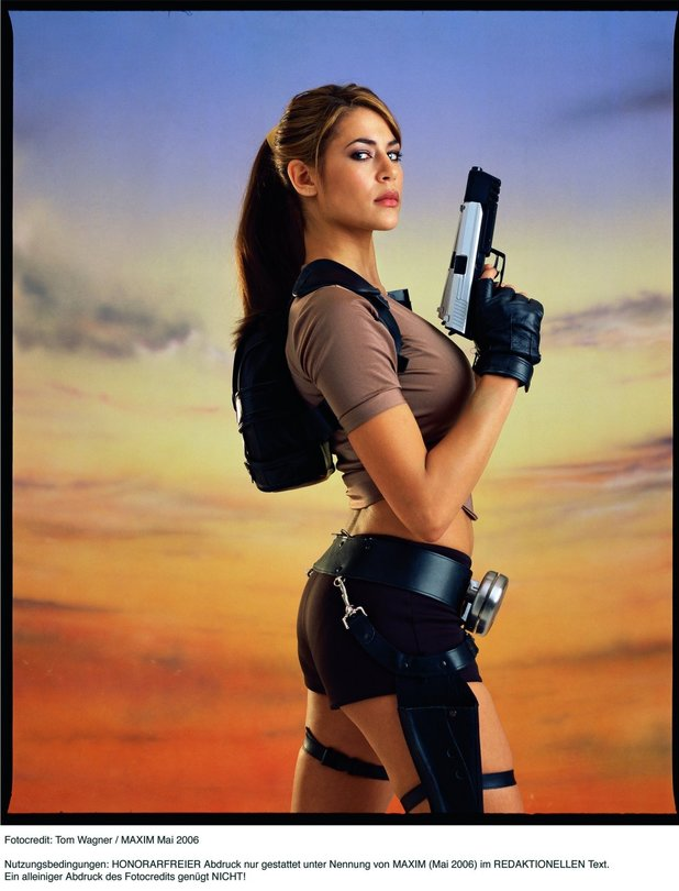 tomb raider legend lara model im bikini gamepro. Black Bedroom Furniture Sets. Home Design Ideas