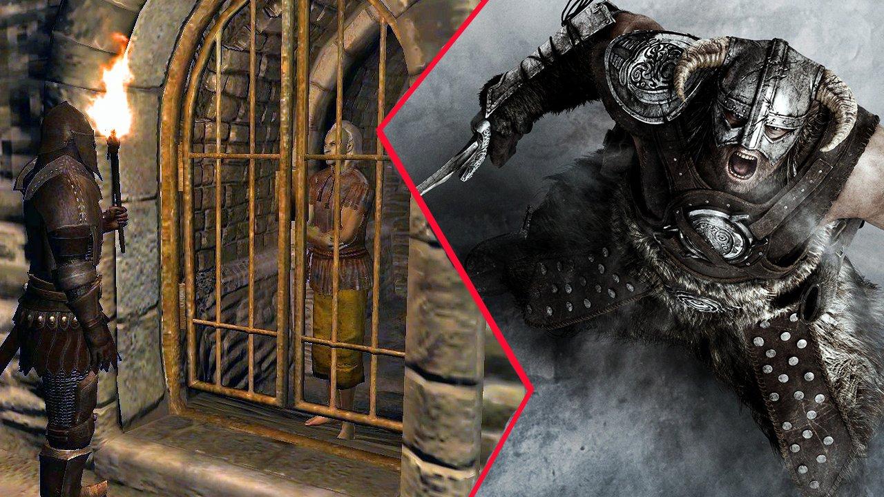 Tes 4 Oblivion Spieler Hatte Im Knast Eigentlich Skyrim Verpasst