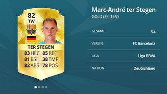 <b>FIFA 16 Ultimate Team</b><br>Marc-Andre Ter Stegen