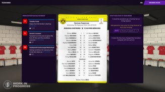 Football Manager 2021 - Team Sheets