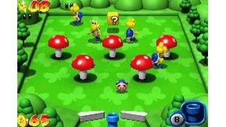 Some Koopas are walking peacefully in a toadstool field, waiting the moment of death... ;-)
