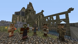 Minecraft - Skyrim-Mash-up