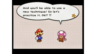 Toadette teaches you a new battle technique every time you find new hammers or boots.
