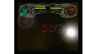 With Romulan fighter you can cloak and thus approach enemy battle ship undetected, but you cannot shot while cloaked
