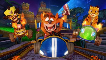 Crash Team Racing Nitro-Fueled - Launch-Trailer zum Spyro-Grand Prix