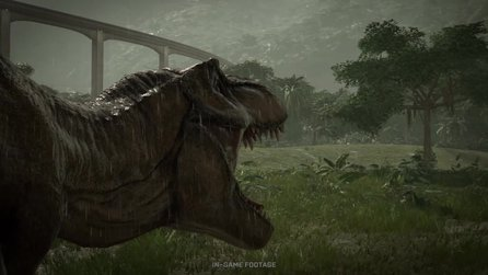 Jurassic World Evolution - Neuer Trailer zeigt Dinos und Gameplay des Park-Simulators