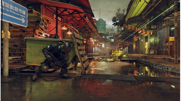 Umbrella Corps - DLC-Map Lanshiang