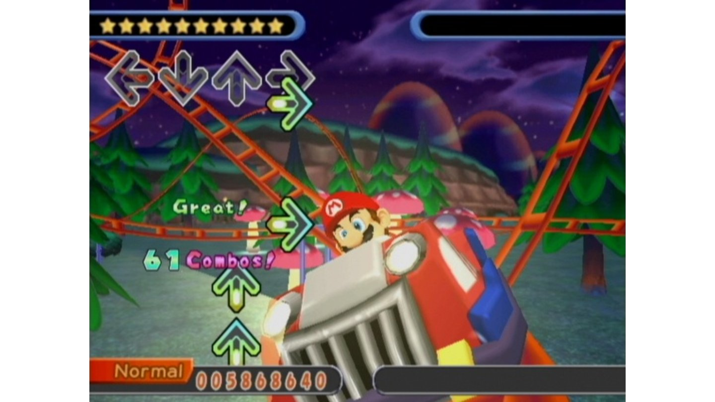 Dancing Stage Mario Mix_GC 3