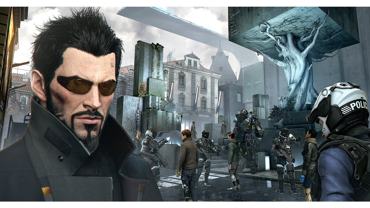 Deus Ex: Mankind Divided - Screenshots von der gamescom 2015