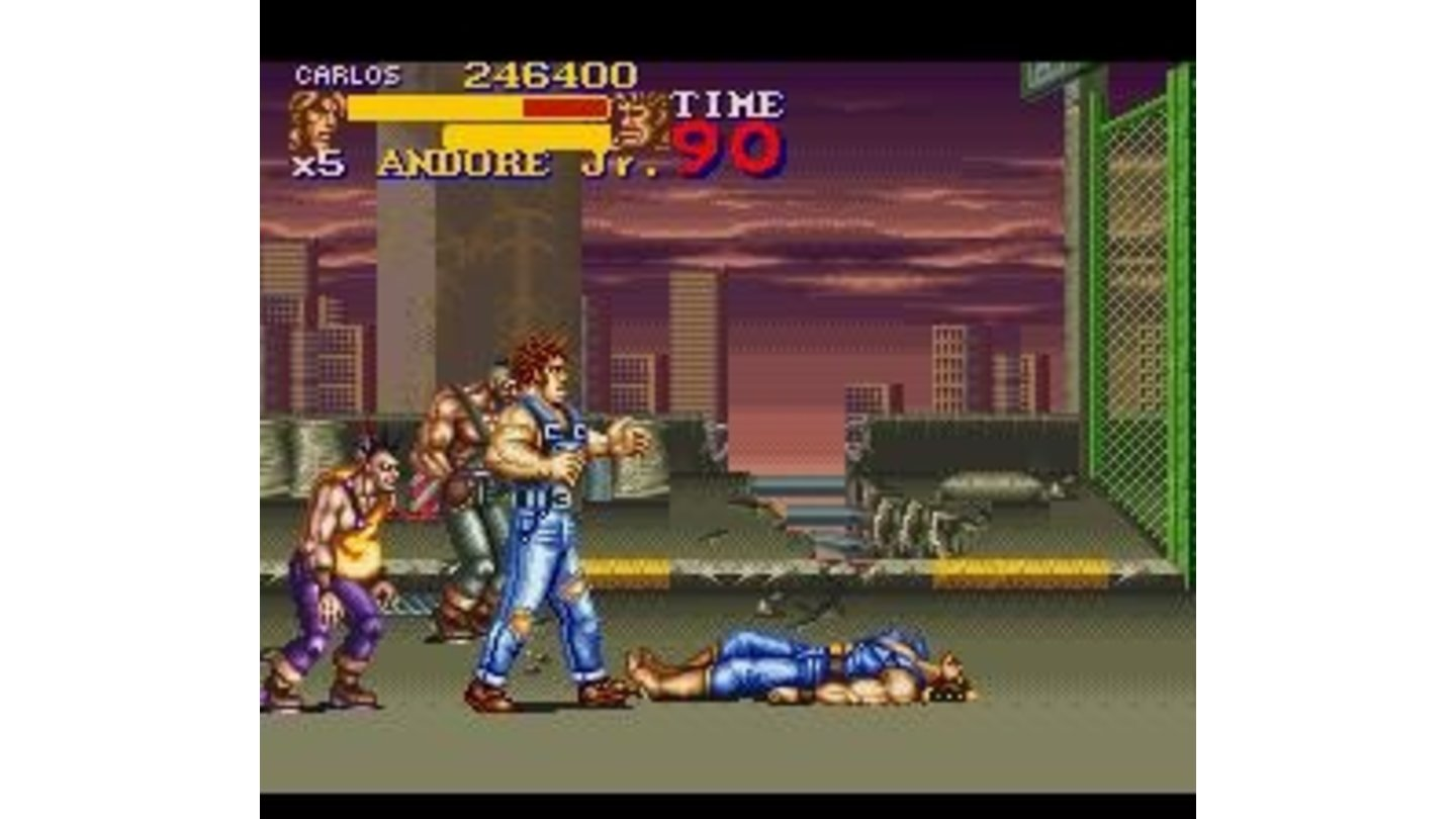 No Final Fight game without some Andore Jr.'s