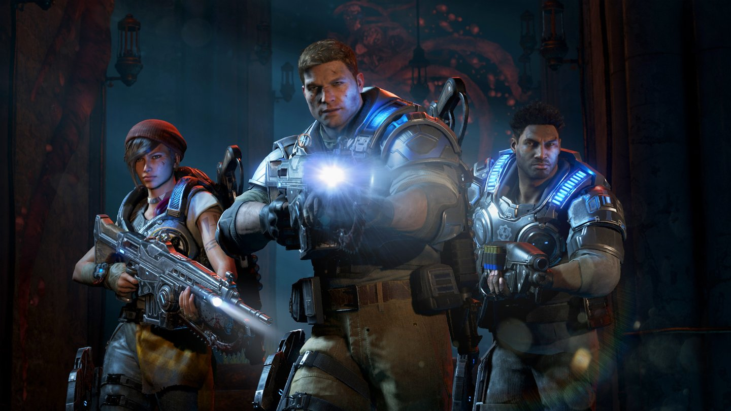 Gears of War 4 - Kampagnen-Screenshots