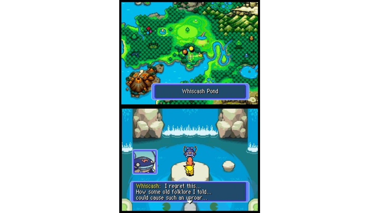 Pokémon Mystery Dungeon Team Blau DS 4