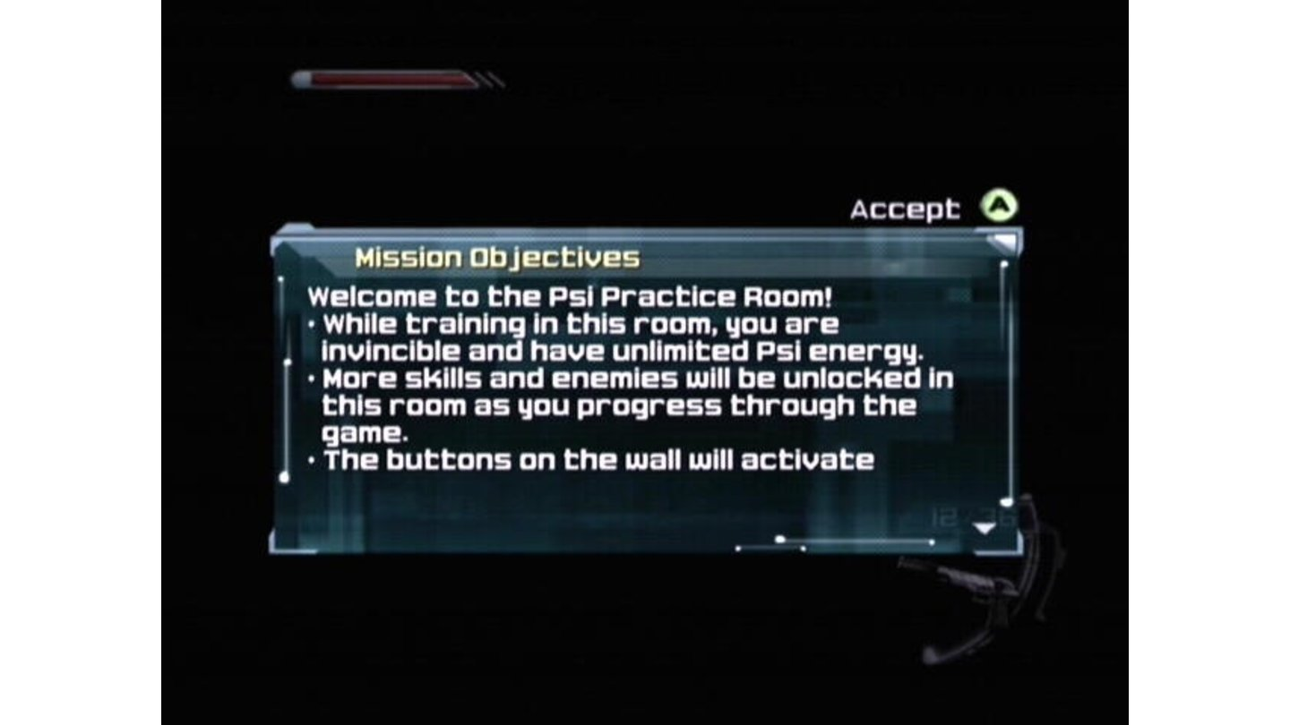 Each mission has multiple objectives, and maybe some tips.
