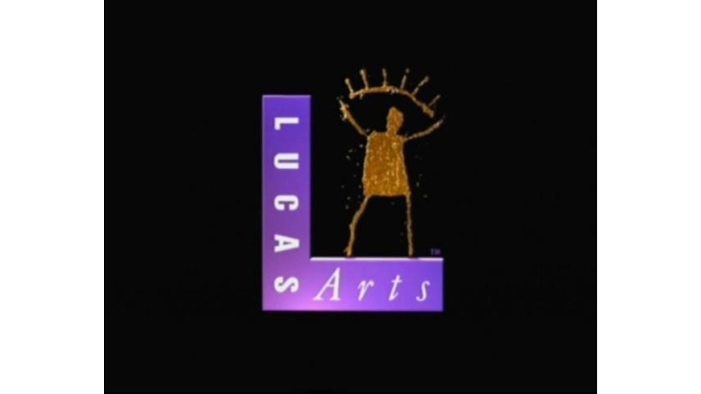LucasArts logo (the mascot is dancing a bit)