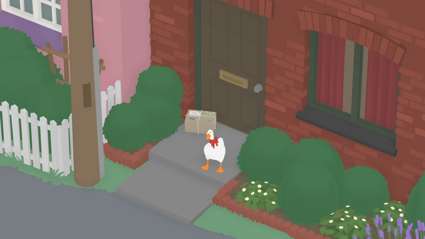 Untitled Goose Game - Screenshot