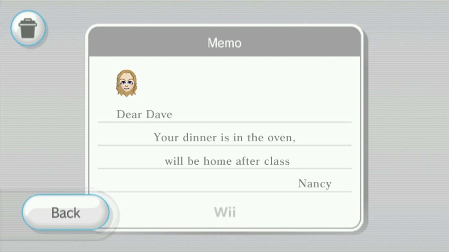 Wii Channel 1