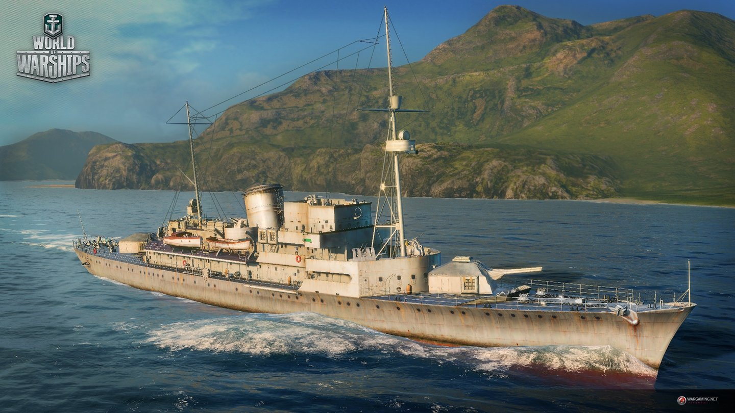 World of Warships - Screenshots von der gamescom 2015