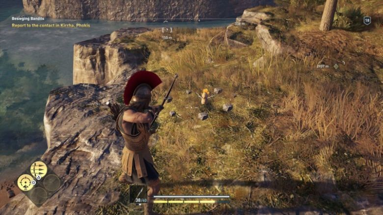 Assassin's Creed: Odyssey - Zelda-Easter Egg