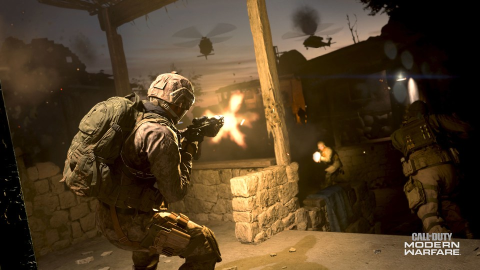 Call of Duty: Modern Warfare hat einen riesigen Day One-Patch bekommen.