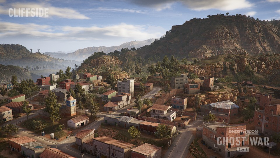 Ghost Recon: Wildlands - Die neue Kliff-Map.