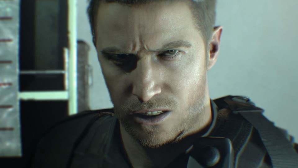 Chris Redfield übernimmt die Hauptrolle in Not A Hero.
