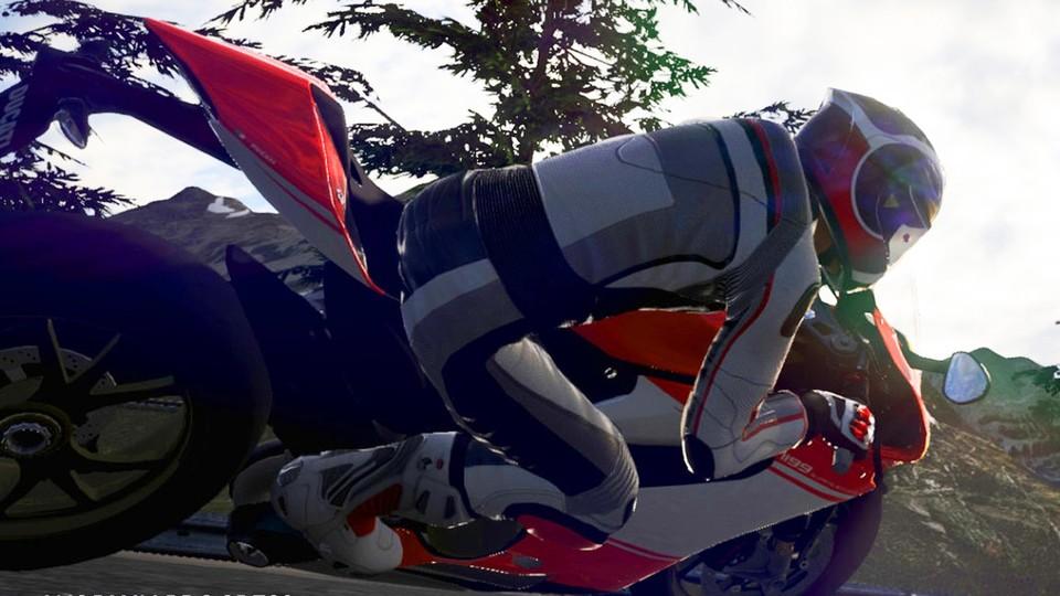 Motorrad Rennspiel