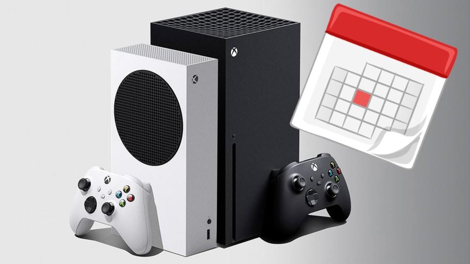 Der Inhalt der verfügbaren Xbox S / X-Serie ist begrenzt.